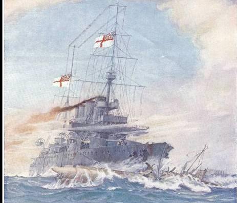 HMS Birmingham vædrer U15