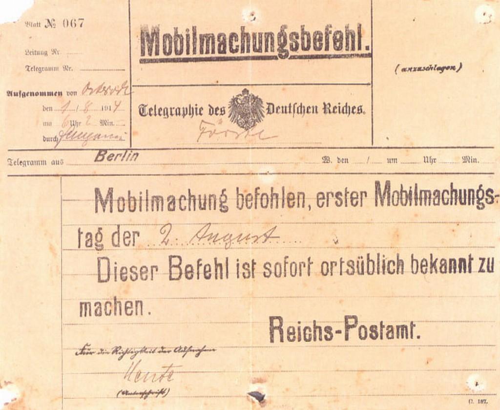 1914-08-01 mobilmachung