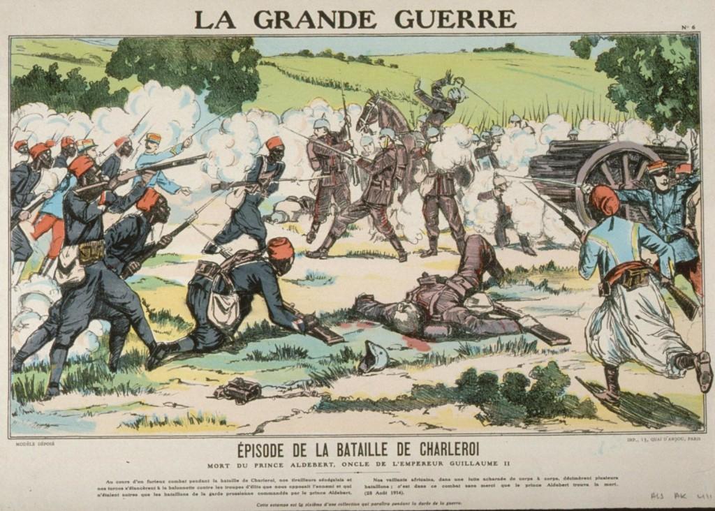 1914-08-21 franske kolonialtropper