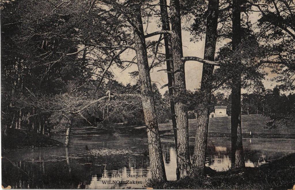 1915-09-26 - Carte Postale - Wilno Zakret - Postkort fra en russisk soldat sendt fra Riga