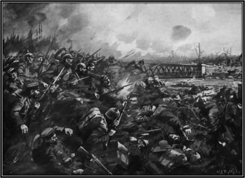 Nimy broen ved Mons