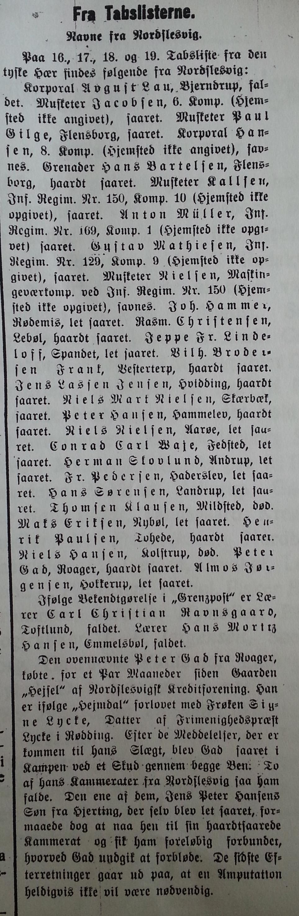 1914-09-11 Tabslister Stiftstidende