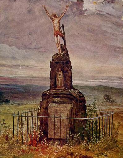 Das Kreuz von Saarburg