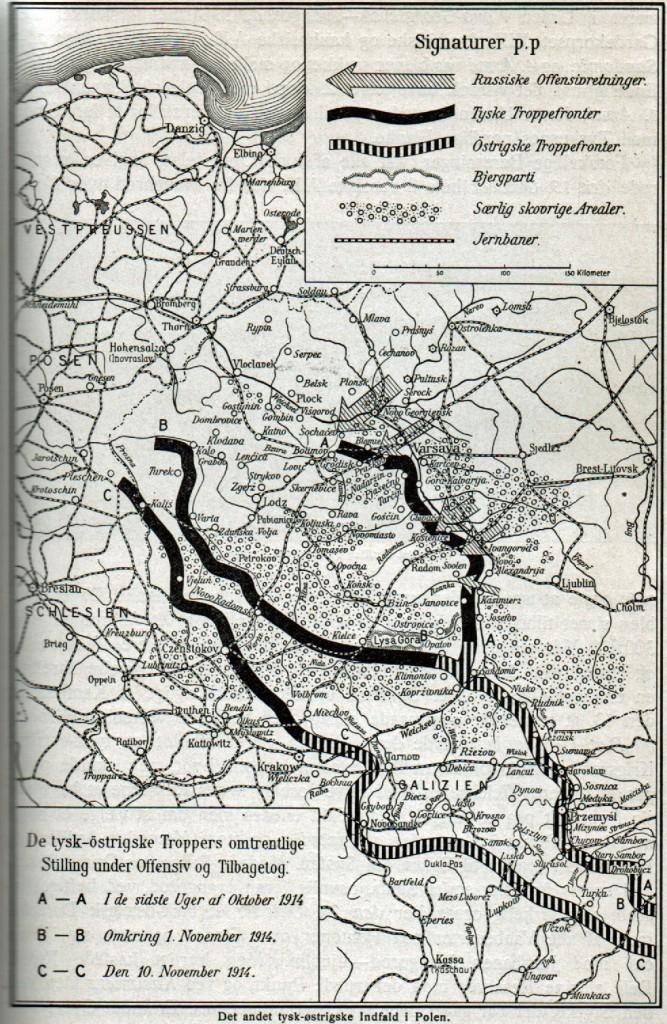 Warszawa oktober-november-1914