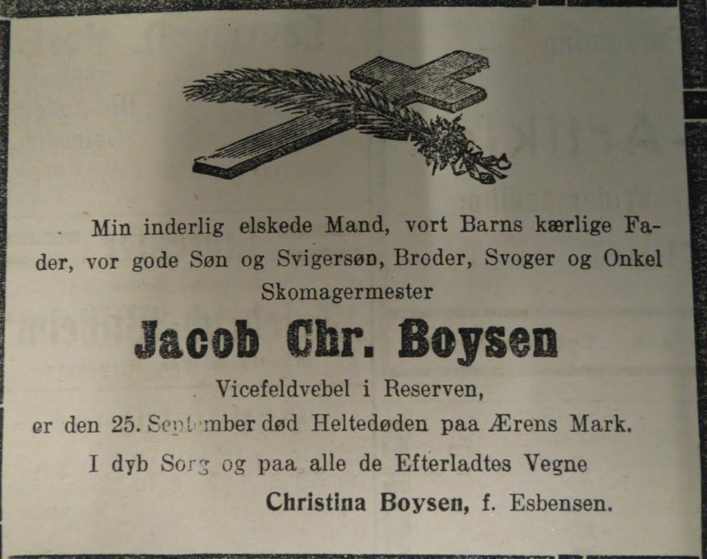 1914-10-5 - dødsannonce Boysen web