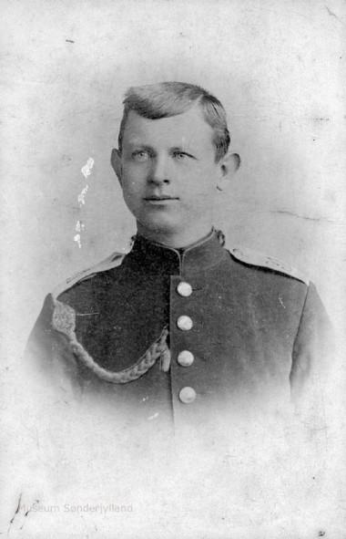 Hans Peter Hansen-Fogt (1877-1814) Blans, Ullerup