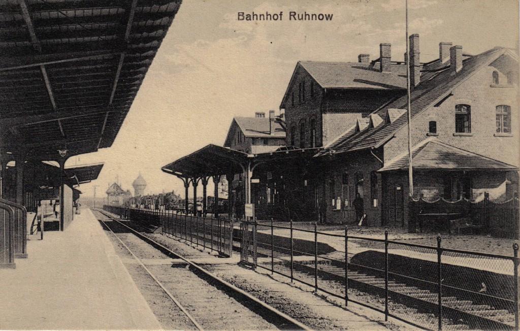 1914-11-08 LIR84 - Bahnhof Ruhnow - forside