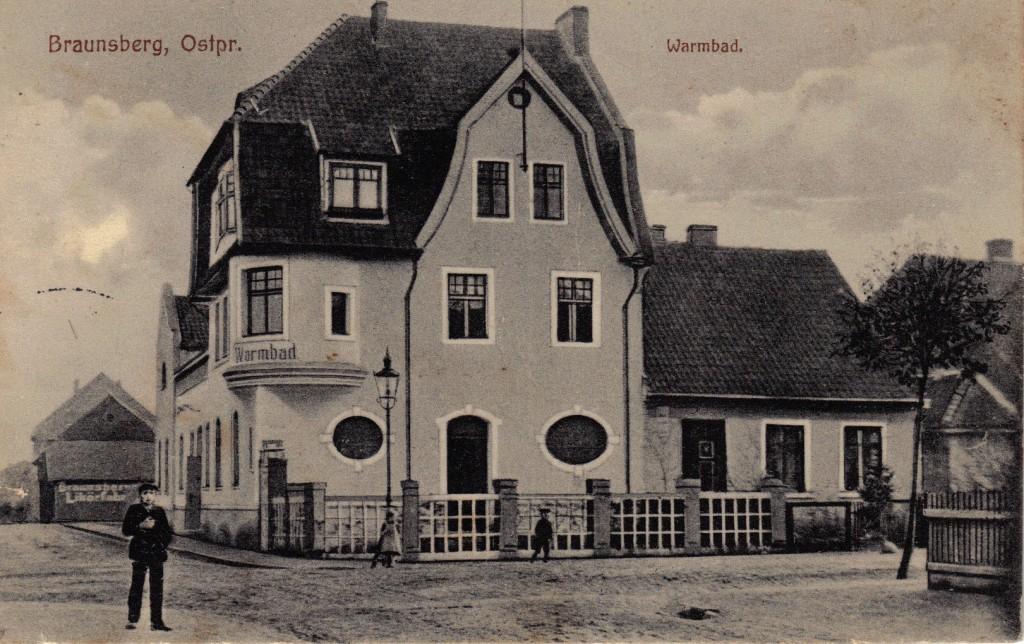 1914-11-09 -LIR84 Otto Theodor Wagner - Braunsberg Ostpr. forside