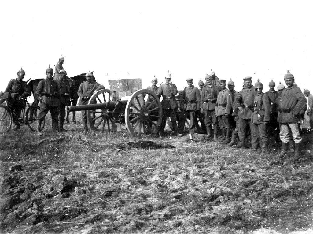 Erobret russisk kanon 6a410-11-047