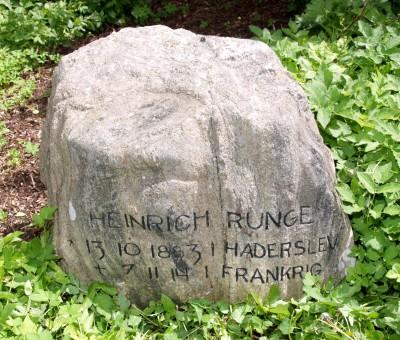 Mindesten, Damager Kirkegård, Haderslev