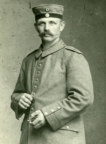 Hans Christian Christensen Bonde (1883-1915) Kegnæs