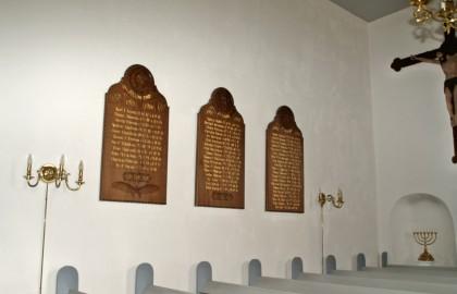 Mindetavler, Ensted Kirke