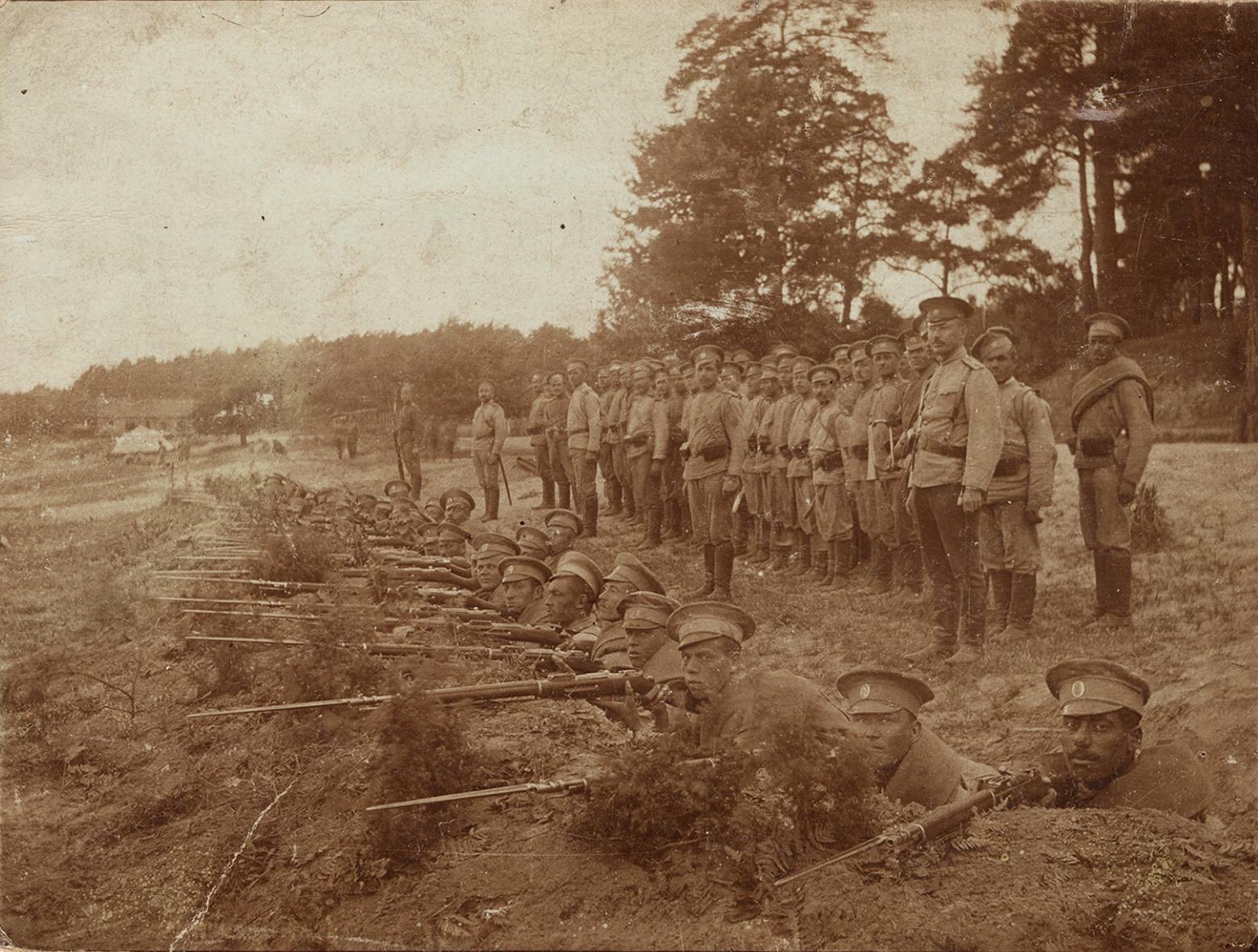 Tyskere i russiske uniformer B 2064