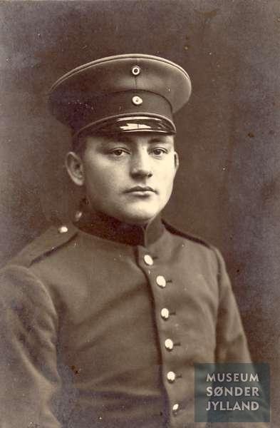Johan Peter Høj (1892-1915) Hundslev, Notmark