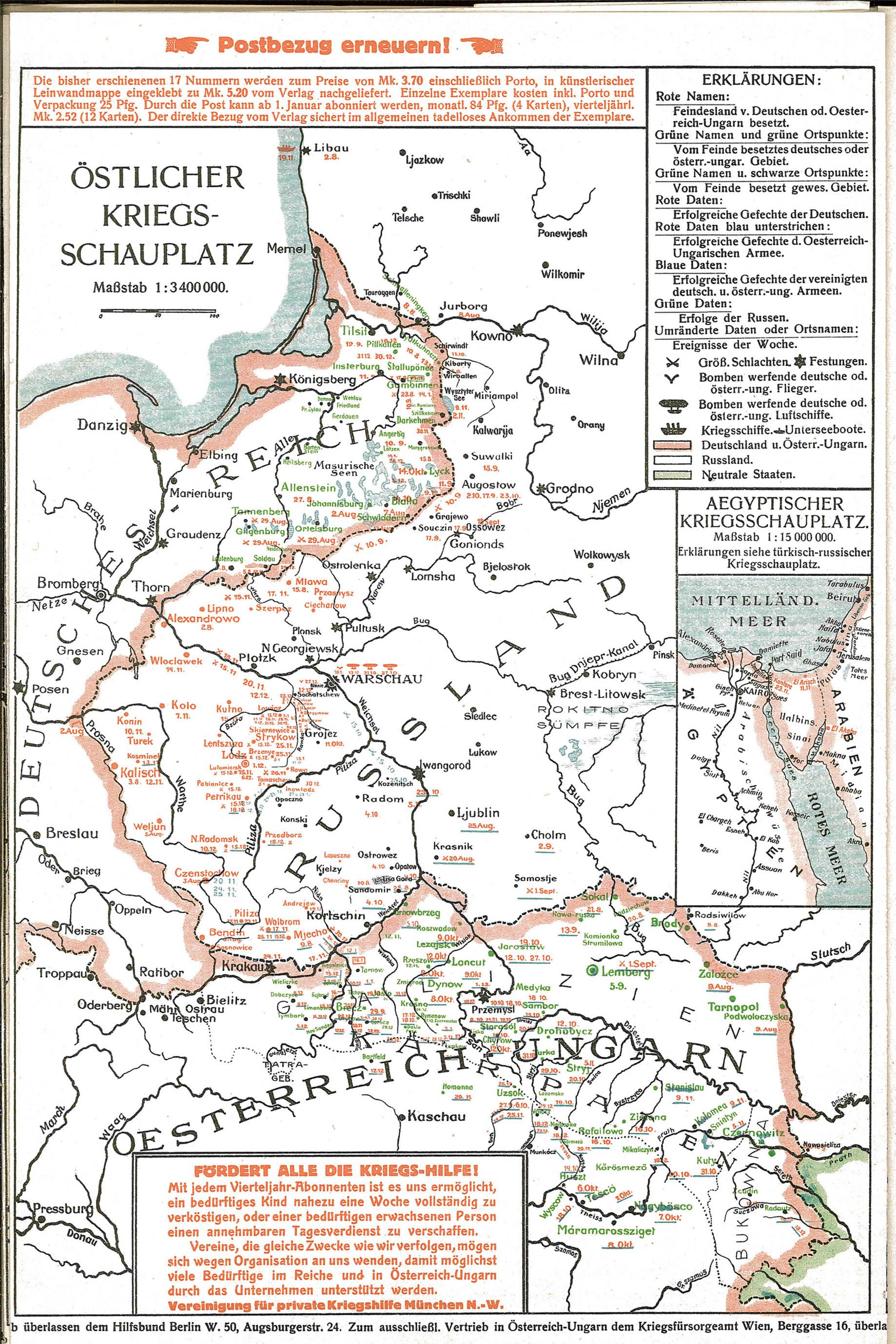 1915-01-10til16 Krigskort Øst