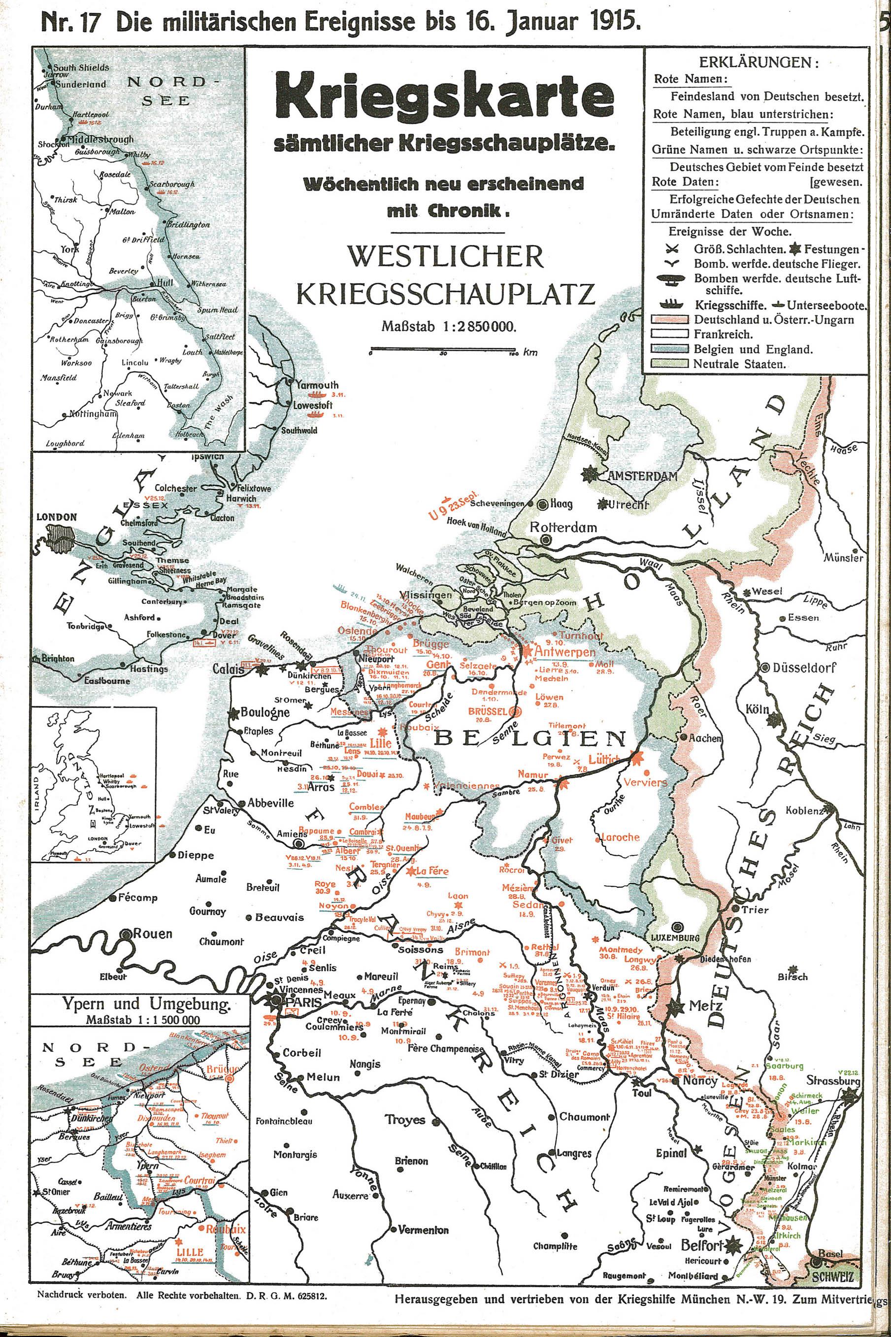 Krigskort 1915-01-10til16