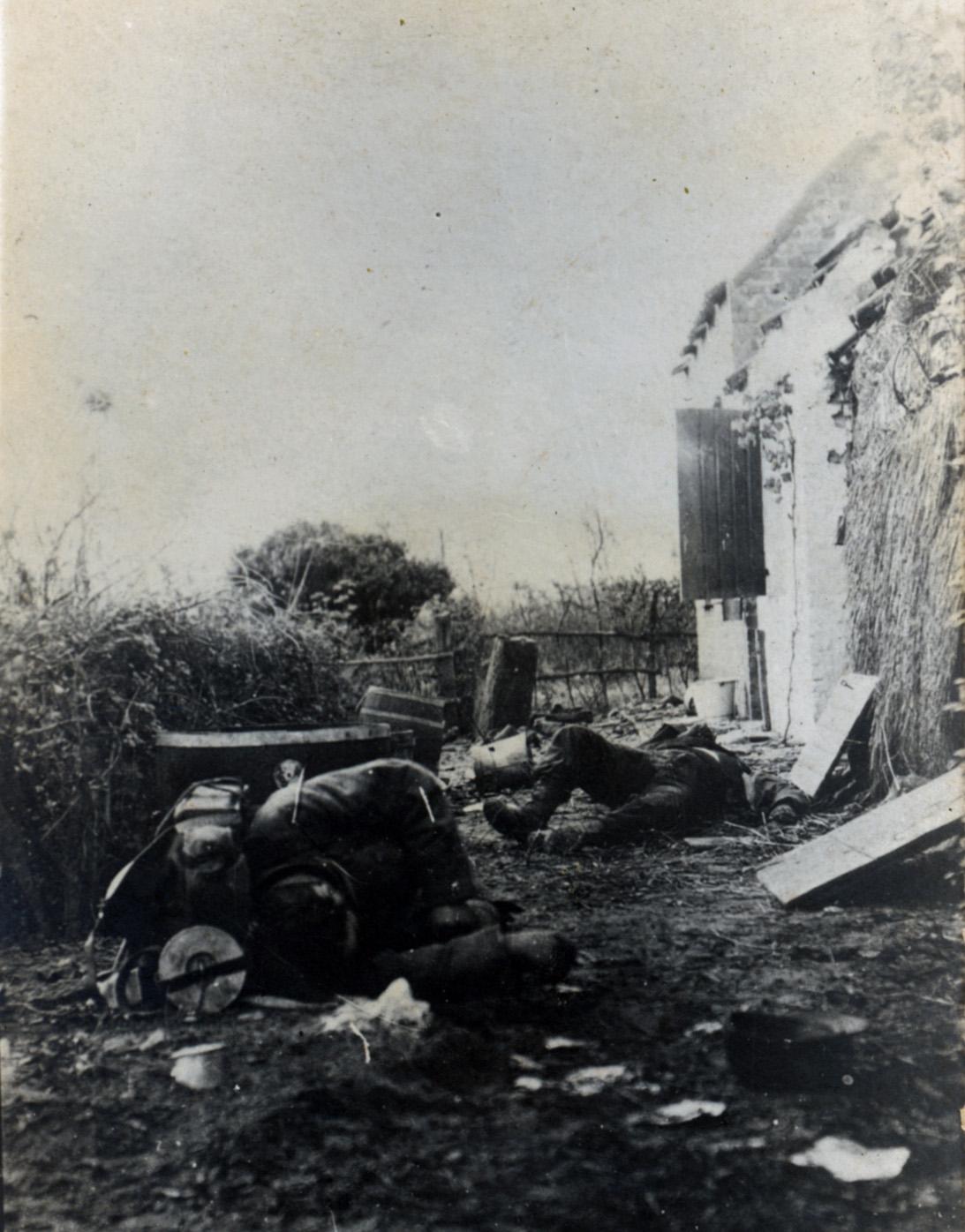 draebte franske soldater efter patrulje 07006F00365