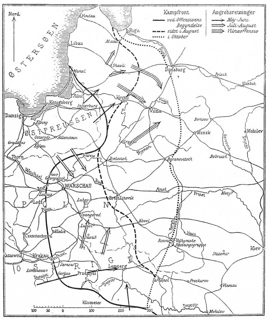 Østfronten 1915