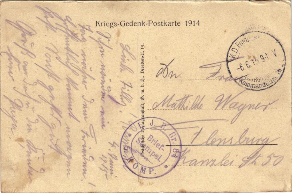 1916-06-04 LIR84 Otto Theodor Wagner - In der Heimat, in der Heimat, Da gibt's ein Wiederseh'n_2