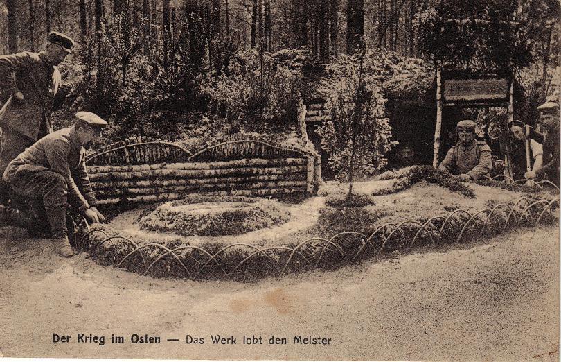 1915-08-02 LIR84 Otto Theodor Wagner - Der Krieg im Osten - Das Werk lobt den Meister