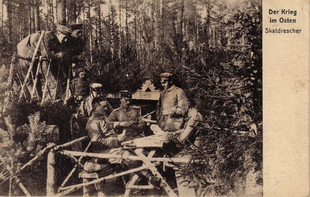 1915-08-18 LIR84 Otto Theodor Wagner - Der Krieg im Osten - Skatdrescher