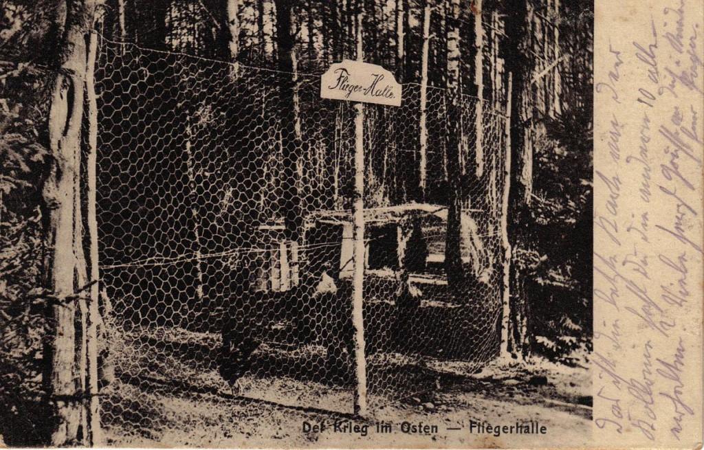 1915-08-24 LIR84 Otto Theodor Wagner - Der Krieg im Osten - Fliegerhalle