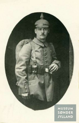 Friedrich Theodor Hentze (1894-1915) Majbøl, Hørup