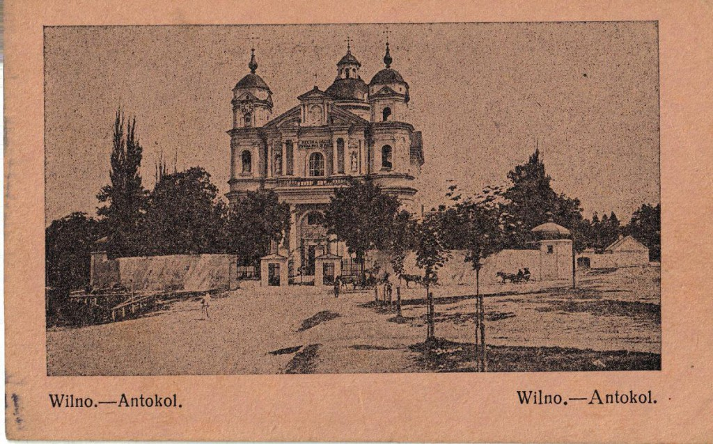 1915-11-14 LIR84 - Carte Postale - Wilno. - Antokol