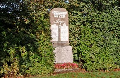 Mindesten, Bedsted Kirkegård