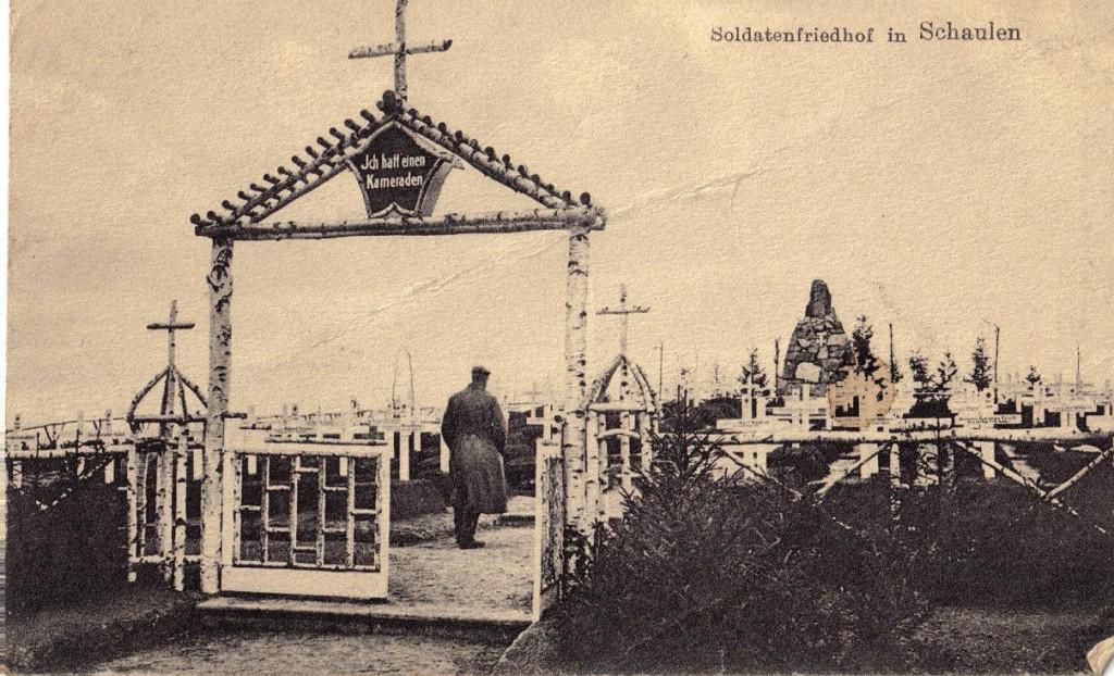 1915-12-15 LIR84 Otto Theodor Wagner - Soldatenfriedhof in Schaulen