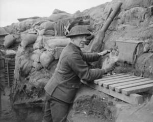 Redimentsmaskot Cambrin, France, February 6th, 1918