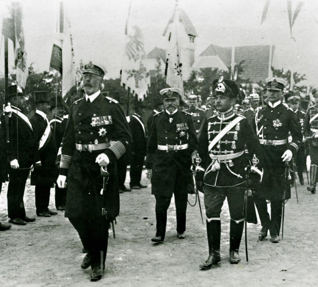 1914-06-28 Prinz Heinrich i Sønderborg