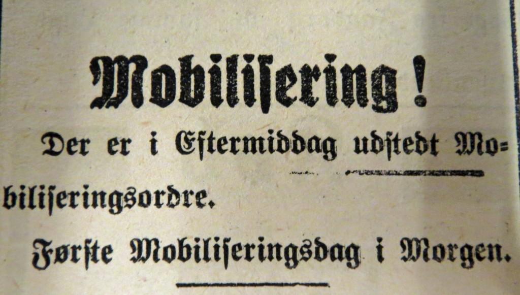 1914-08-01 Mobiliseringsordre avis