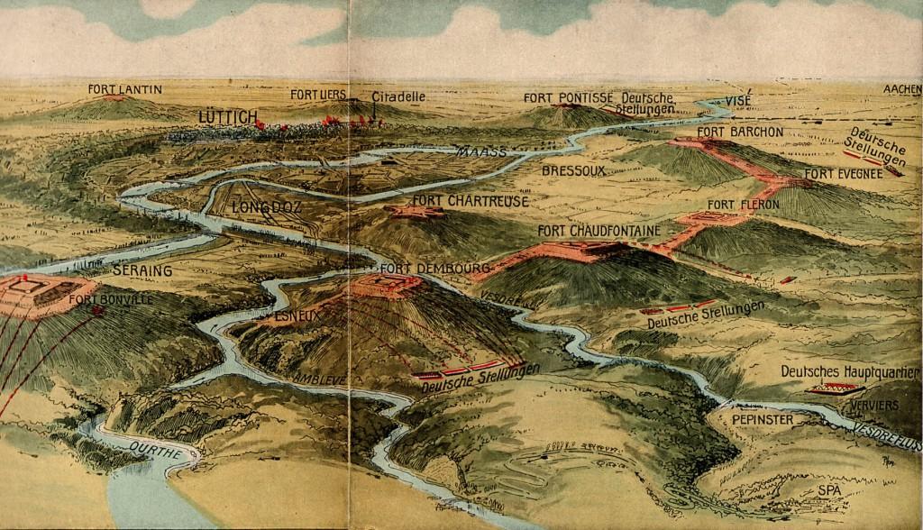 1914-08-16 Lieges fæstningsring