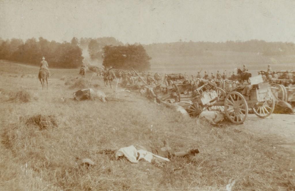 1914-08-24 Fremmarch i Frankrig 2