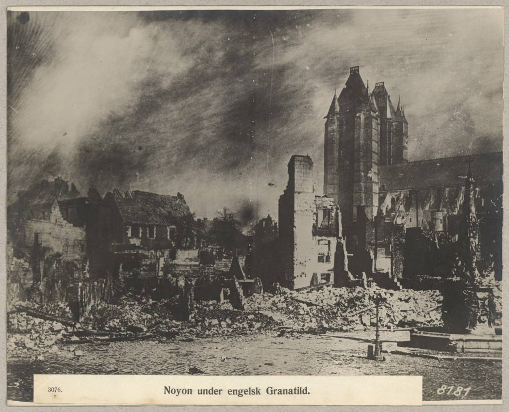 1914-08-28 Noyon efter kampene
