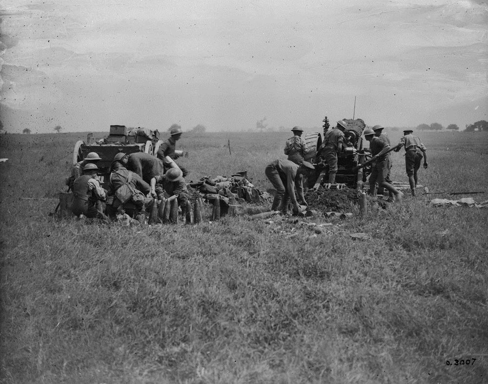 1914-08-29 Armiens engelsk artilleri