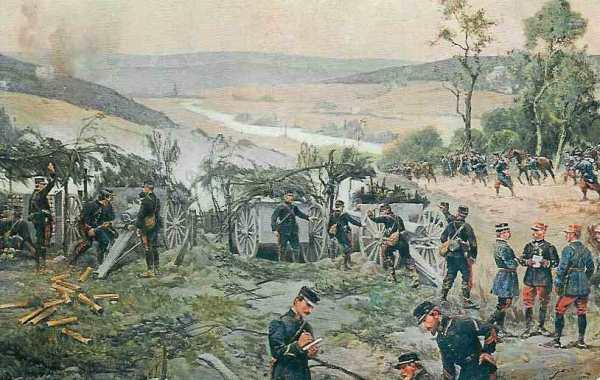 1914-08-31 Kampene ved Coursonne