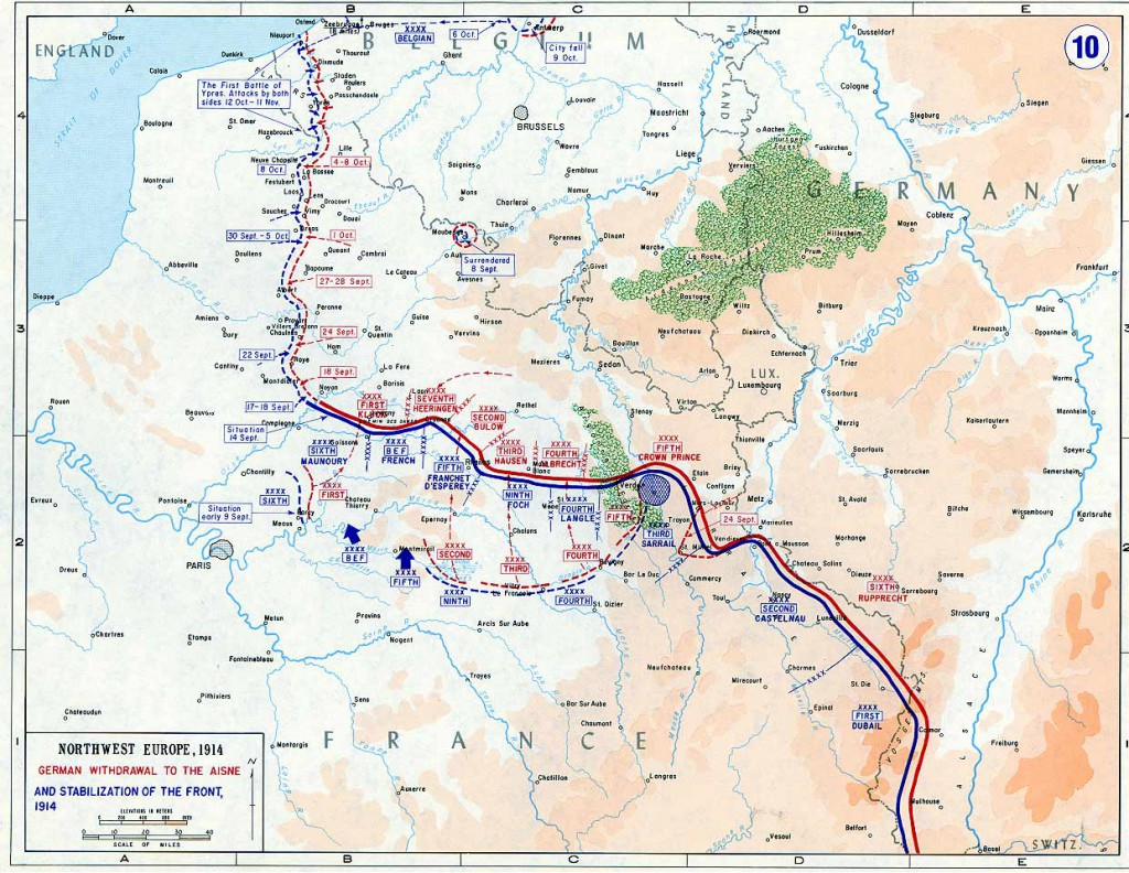 1914-09-02 Vestfronten ved indgangen til september