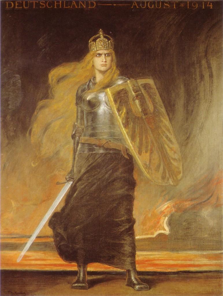 F_A_von_Kaulbach_Germania_1914