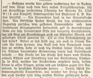 Riis_Oluf_SchleswigscheGrenzpost18-08-1914