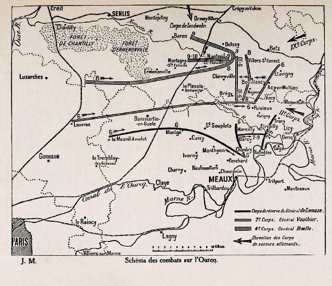 1914-09-05 Kort Marne