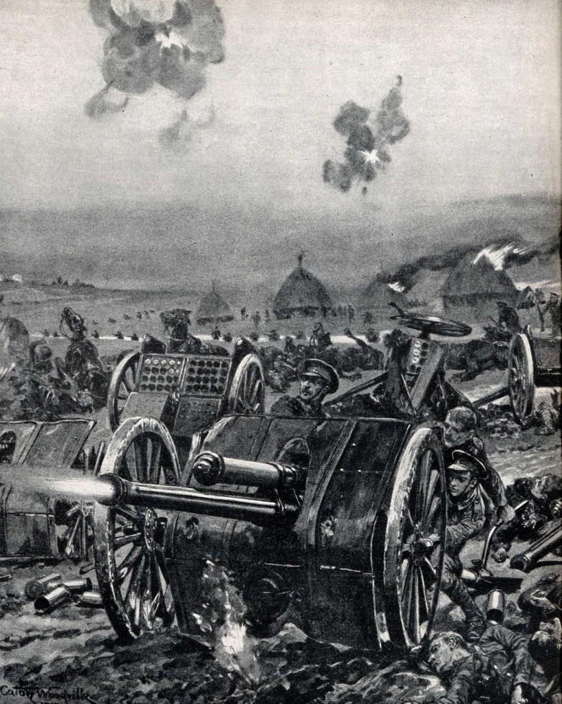 1914-09-06 Engelsk feltartilleri copy