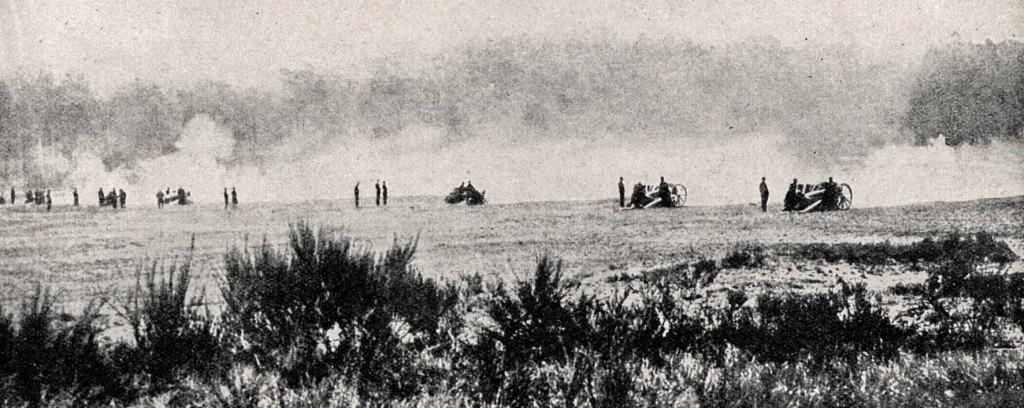 1914-09-06 Franske 75'ere i skudstilling 2 copy