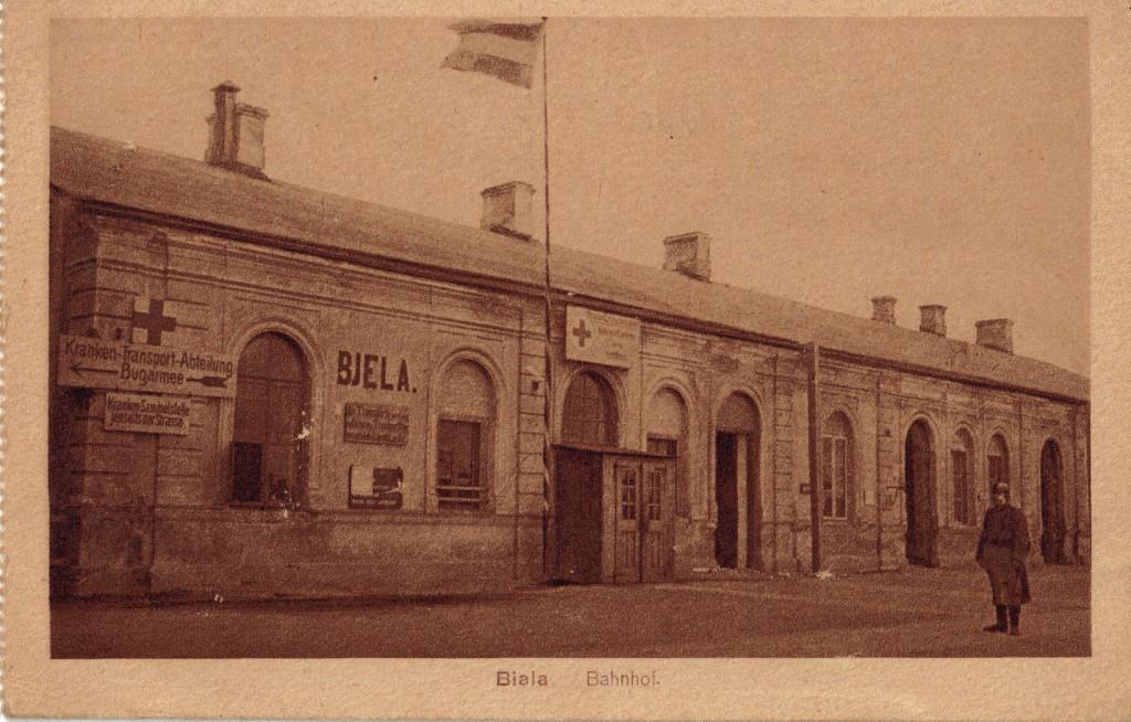 1914-09-10 LIR84 Opa s43 Biala Bahnhof