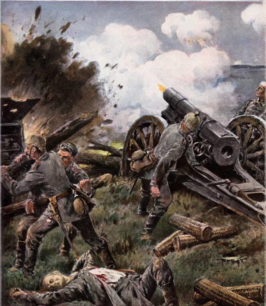 Tysk artilleri