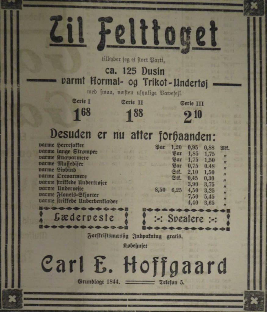 1914-10-14- til felttoget -annonce Hejmdal web