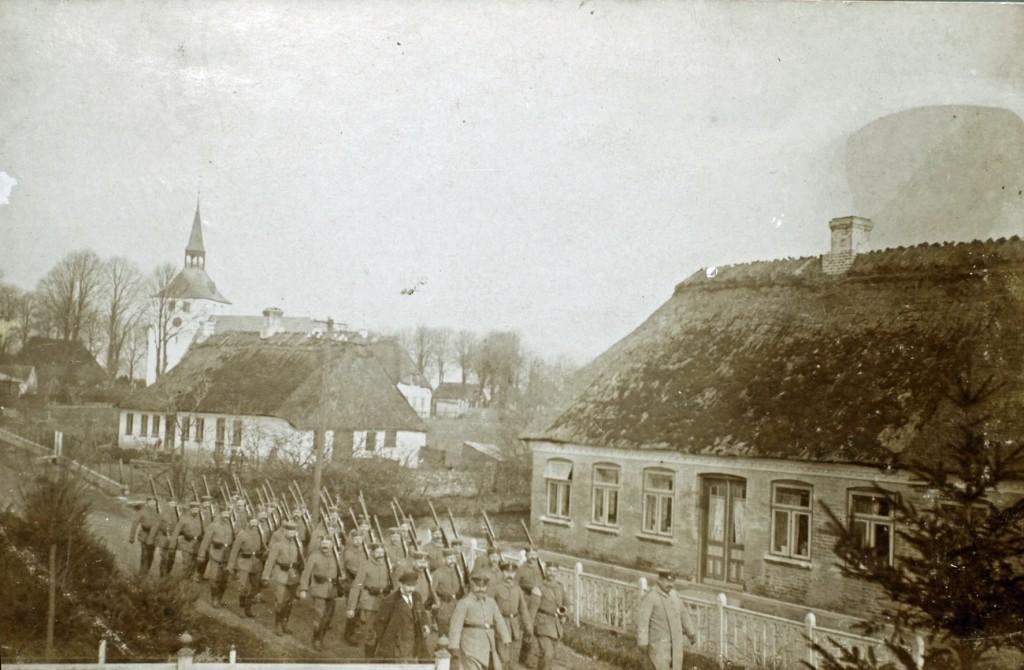 1914-08 Landsstormmænd i Lysabild