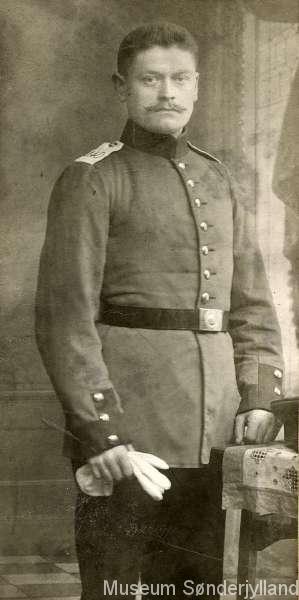 Hans Petersen (1892-1915) Stenderup, Nybøl
