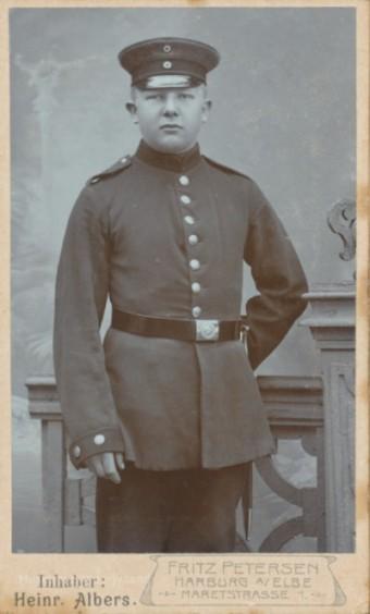 Mathias Jørgensen (1885-1915) Sarup, Lysabild